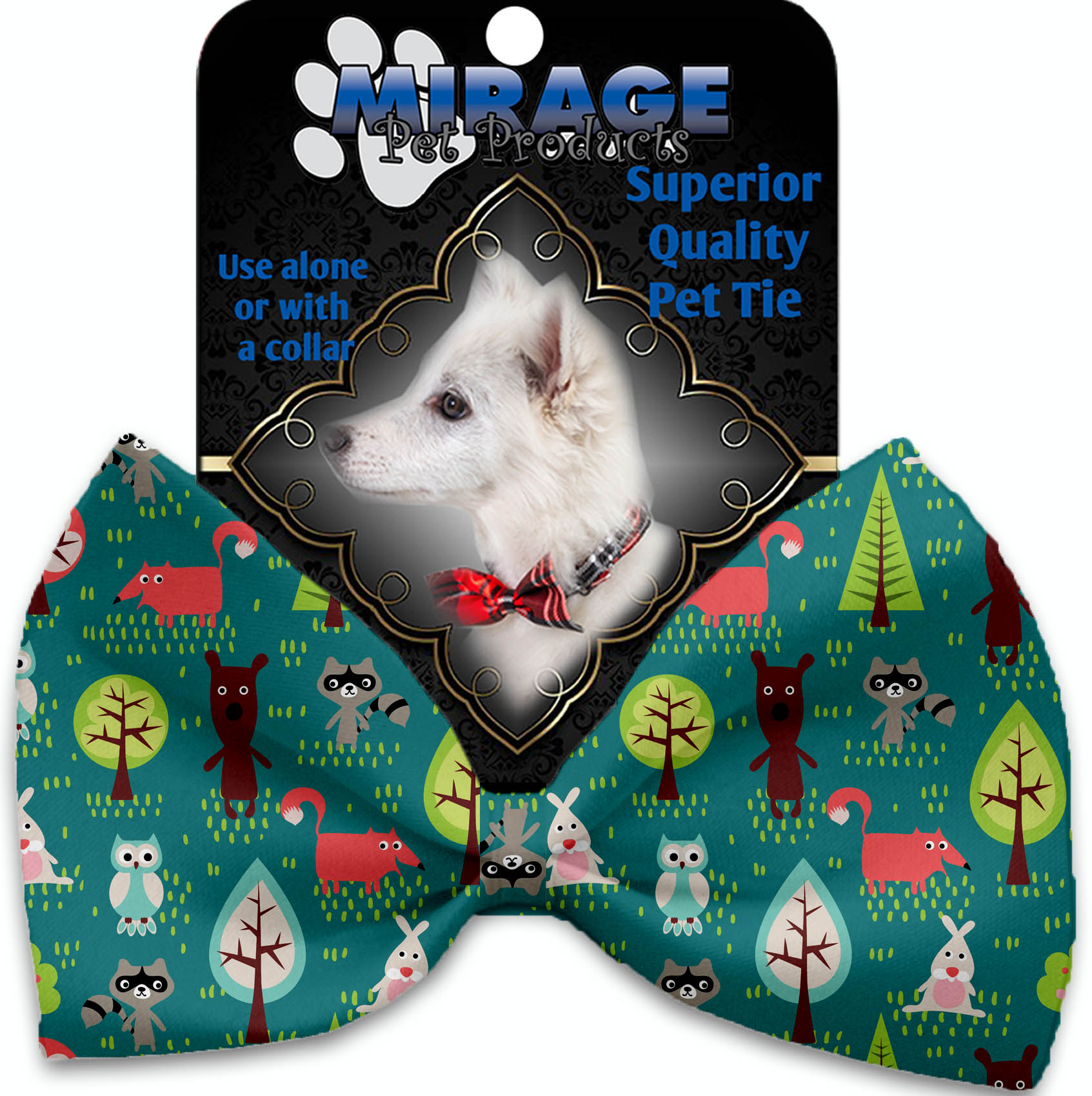 Forest Follies Pet Bow Tie