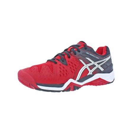 Asics Mens Gel-Resolution 6 Non Marking Flexion Fit Tennis Shoes -  Walmart.com 7fb495367f16a