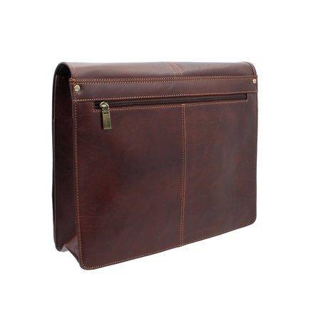 d67bfd022 Visconti Vintage-7 Veg Tan Stylish Quality Brown Soft Genuine Leather  Messenger Bag Cross-Body VT7 - Walmart.com