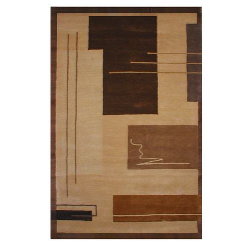 American Home Rug Co. American Home Metro Gold/Brown Area Rug