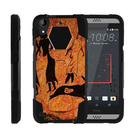 HTC Desire 530 | Desire 630 Shock Fusion Heavy Duty Dual Layer Kickstand Case -  Cave