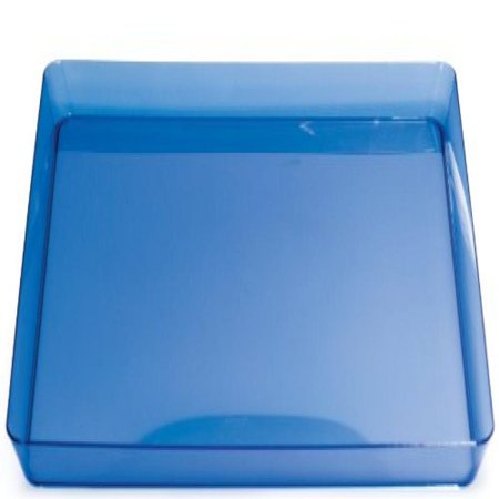 Trendware Translucent Blue Tray (Blue Hostess Tray)