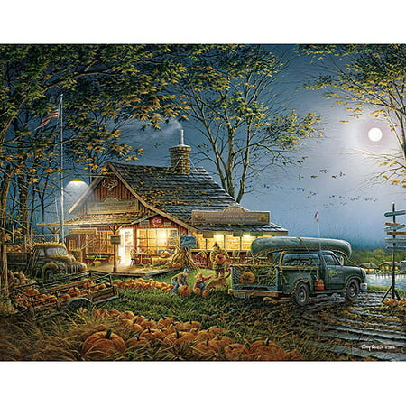 White Mountain® Autumn Traditions Jigsaw Puzzle](Halloween Logic Puzzle)