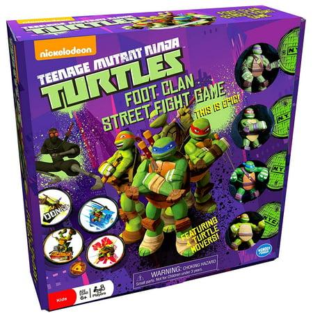 Teenage Mutant Ninja Turtles (TMNT) Foot Clan Street Fight Game](Teenage Halloween Games For Outdoors)