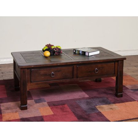 Loon Peak Fresno Coffee Table (Round Table Pizza Fresno)