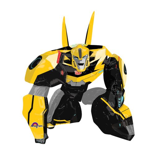 "Burton & Burton 47"" Bumble Bee Transformer Airwalker Balloon"