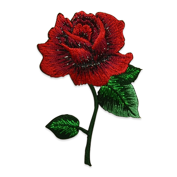 Expo Int'l Lilith Rose Embroidered Iron-On Patch Applique