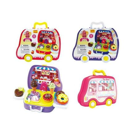 Ice Cream Mini Cart 2322485 Ensemble de cas de voiture Carry Carry Carry Cream de DDI Kitchen, couleurs vari-es - carton de 24 - image 1 de 1