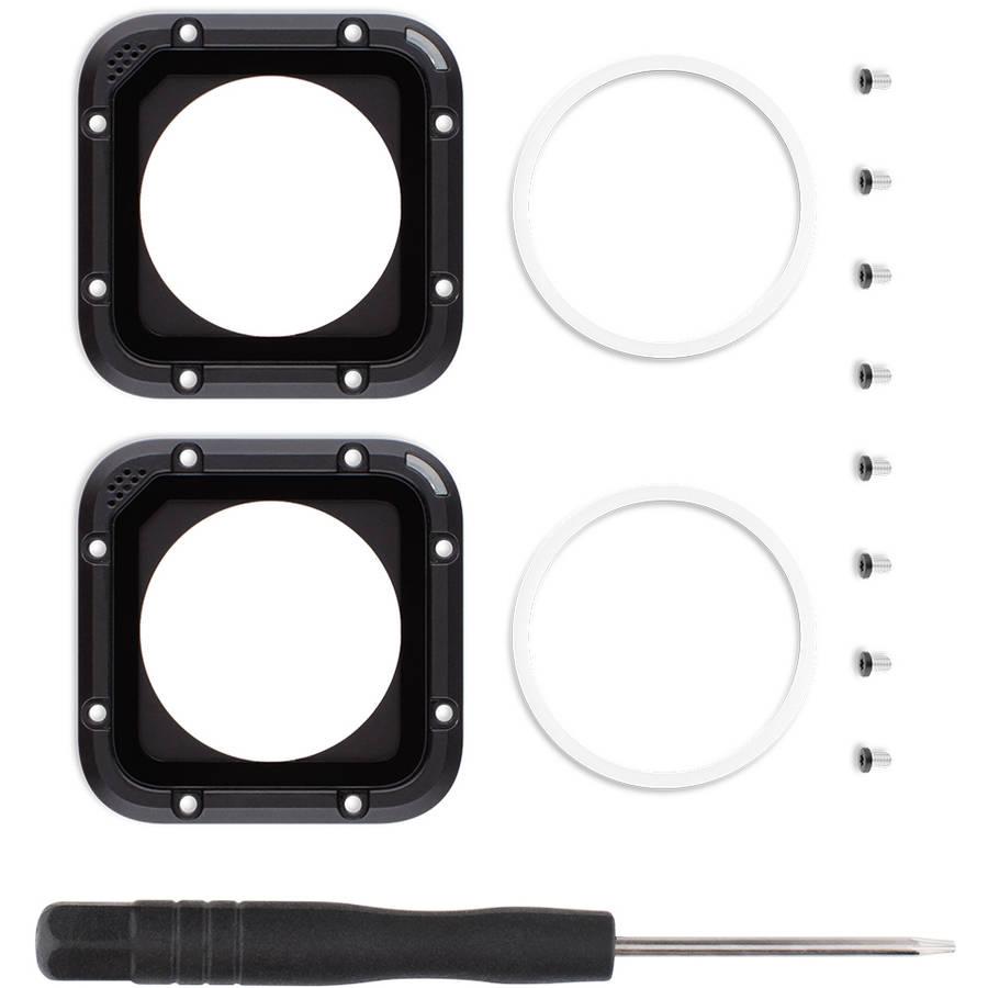 GoPro Lens Replacement Kit for HERO4 Cam1, 2pk
