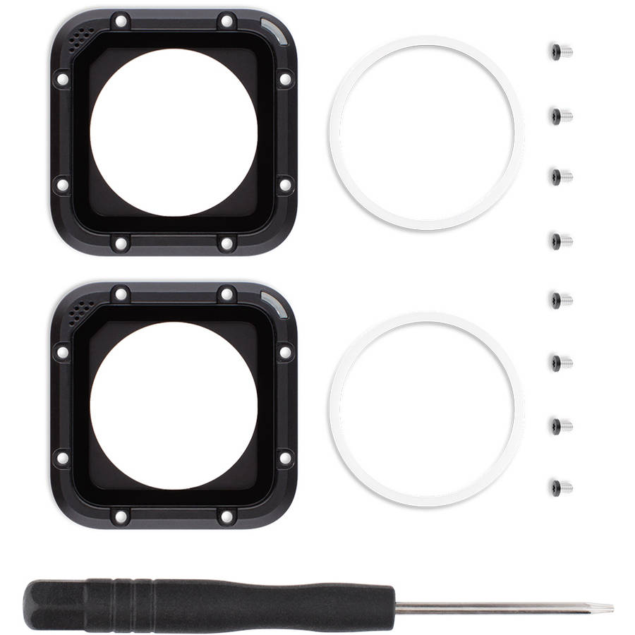 GoPro Lens Replacement Kit for HERO Session, 2pk