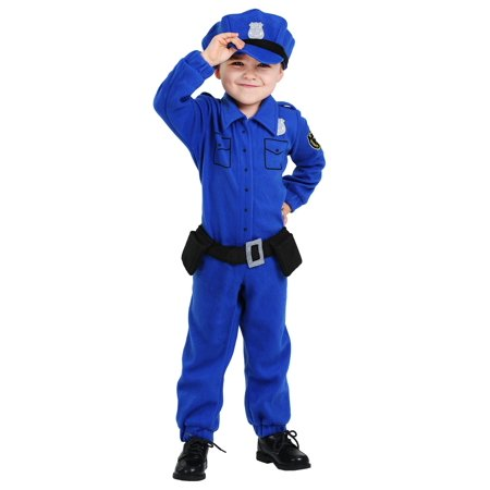 Police Costume Toddler (Toddler Fleece Police Costume)