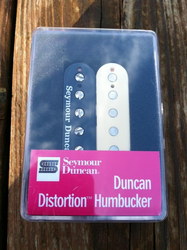 Seymour Duncan Distortion SH-6 BRIDGE Humbucker Guitar Pickup Reverse Zebra by Seymour Duncan