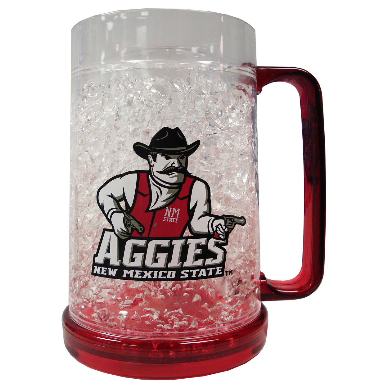 Duckhouse NCAA New Mexico State Aggies Crystal Fre