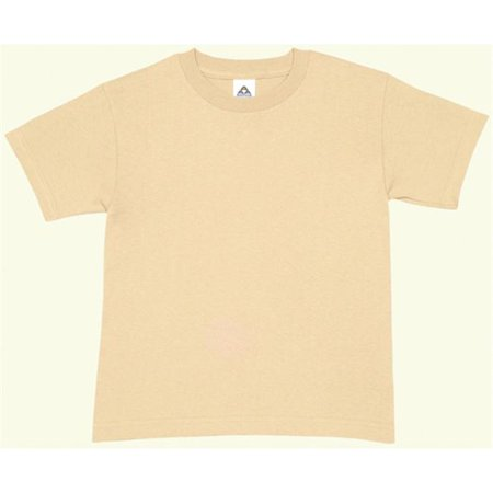 Fox Outdoor 64-207 XS Youths Short Sleeve T-Shirt - Sand, Extra Small - image 1 of 1