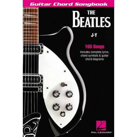 Guitar Chord Songbook Book - The Beatles Guitar Chord Songbook J-Y