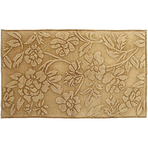 "Branson StoNewashed Floral 27"" x 45"" Accent Rug by Chesapeake Merchandising, Inc"
