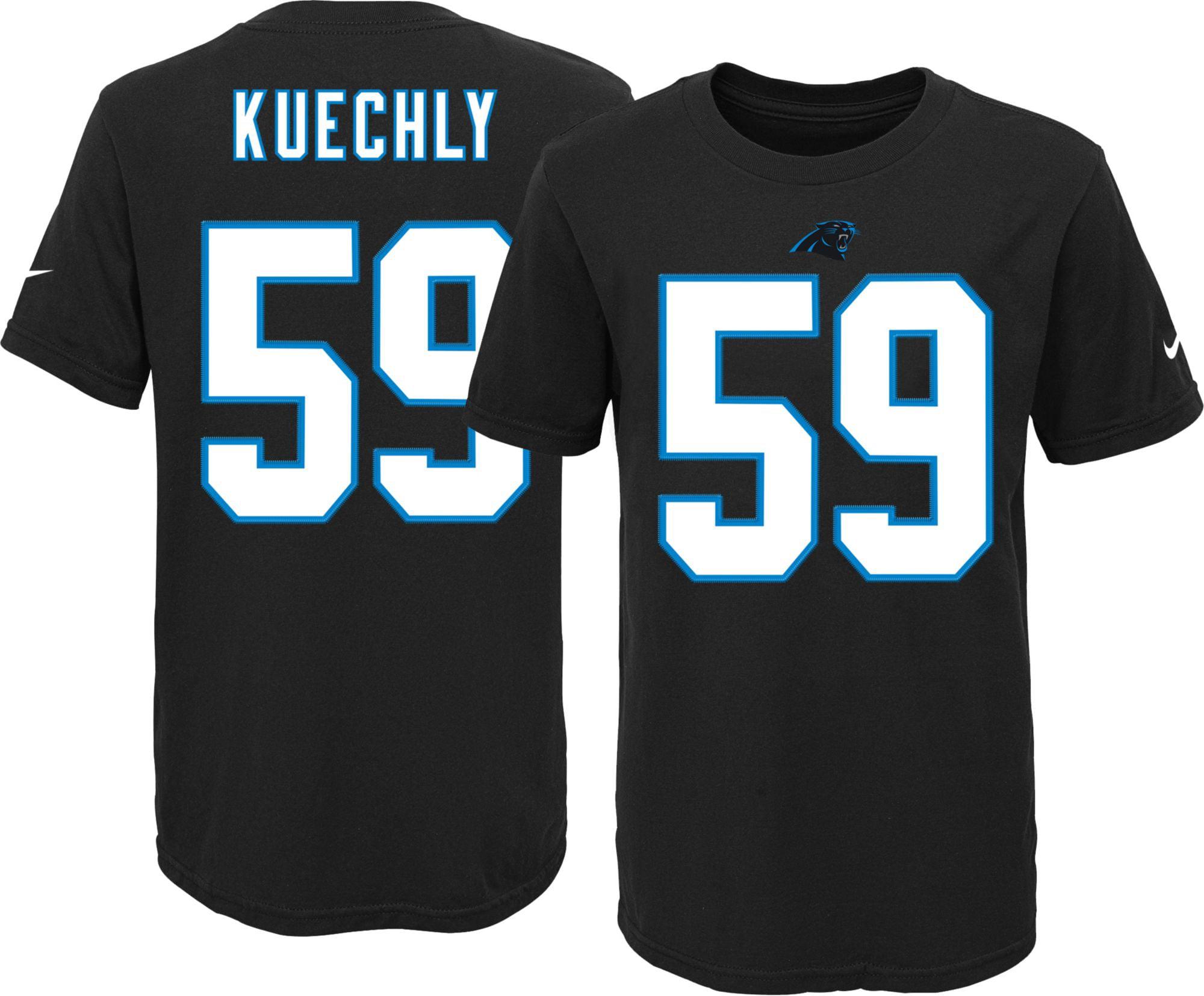 Nike Youth Carolina Panthers Luke Kuechly  59 Black T-Shirt - Walmart.com 89cc694a0