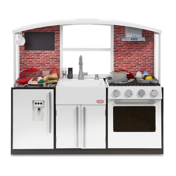 Little Tikes Modern Play Kitchen With 40 Piece Accessory Play Set Walmart Com Walmart Com