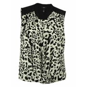 Alfani Women's Sleeveless Animal Print Top