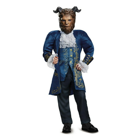 Disney Beauty and the Beast - Beast Deluxe Child - Beauty And The Beast Blue Dress