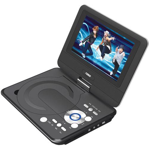 "NAXA NPD952 9"" Portable DVD Player Black"