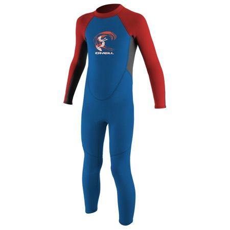 O'NEILL TODDLER REACTOR-2 2MM BACK ZIP FULL (2mm Junior Full Wetsuit)