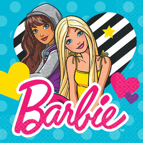Barbie 'Barbie and Friends' Lunch Napkins (16ct)