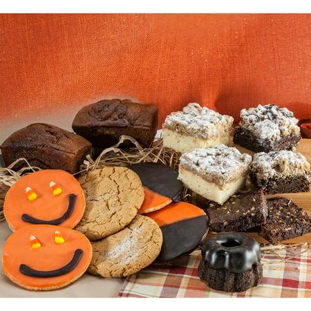 Dulcet Gift Baskets Halloween Pumpkin Assorted Gift - Pumpkin Basket