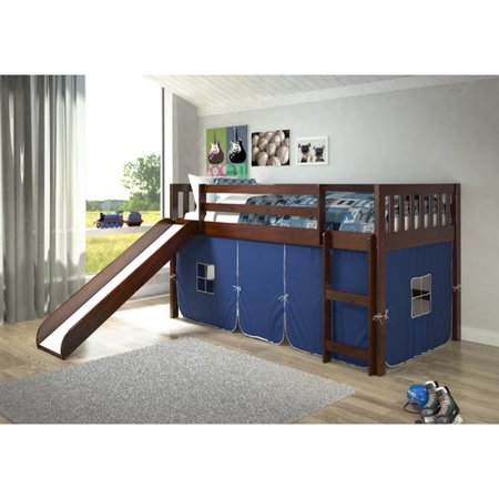 Donco Kids Mission Twin Low Loft Bed