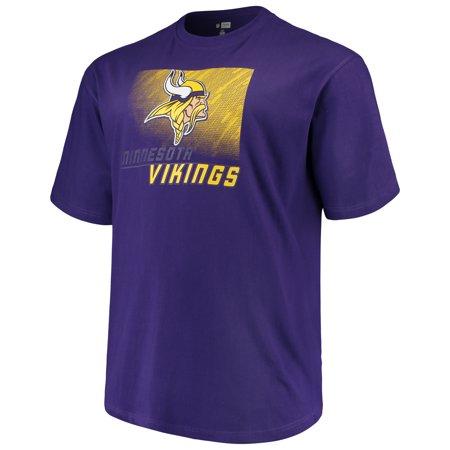 Minnesota Vikings Petite Purse - Men's Majestic Purple Minnesota Vikings Big & Tall Reflective T-Shirt