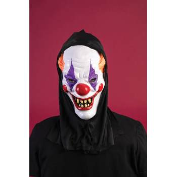 HOODED MASK - CLOWN - Clown Joker Mask