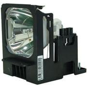 Mitsubishi S490U Projector Housing with Genuine Original OEM Bulb