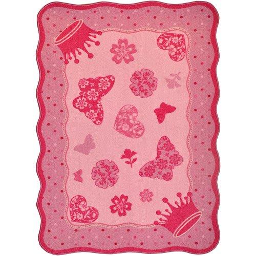 Mainstays Princess Accent Rug, Pink