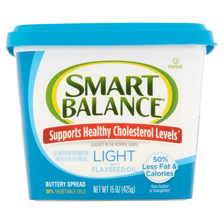 Smart Balance® Light Buttery Spread with Flaxseed Oil 15 oz. Tub ...