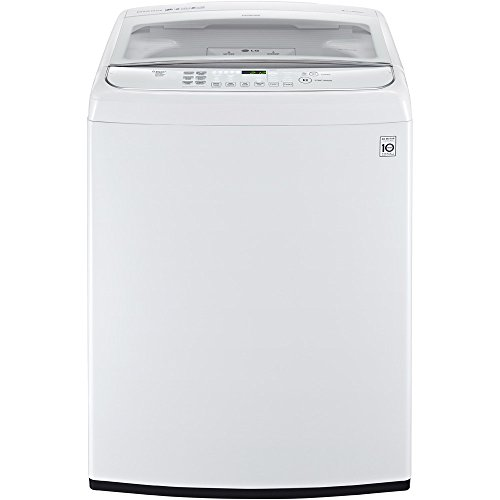 LG WT1801HWA 27 Inch 5.0 cu. ft. Top Load Washer