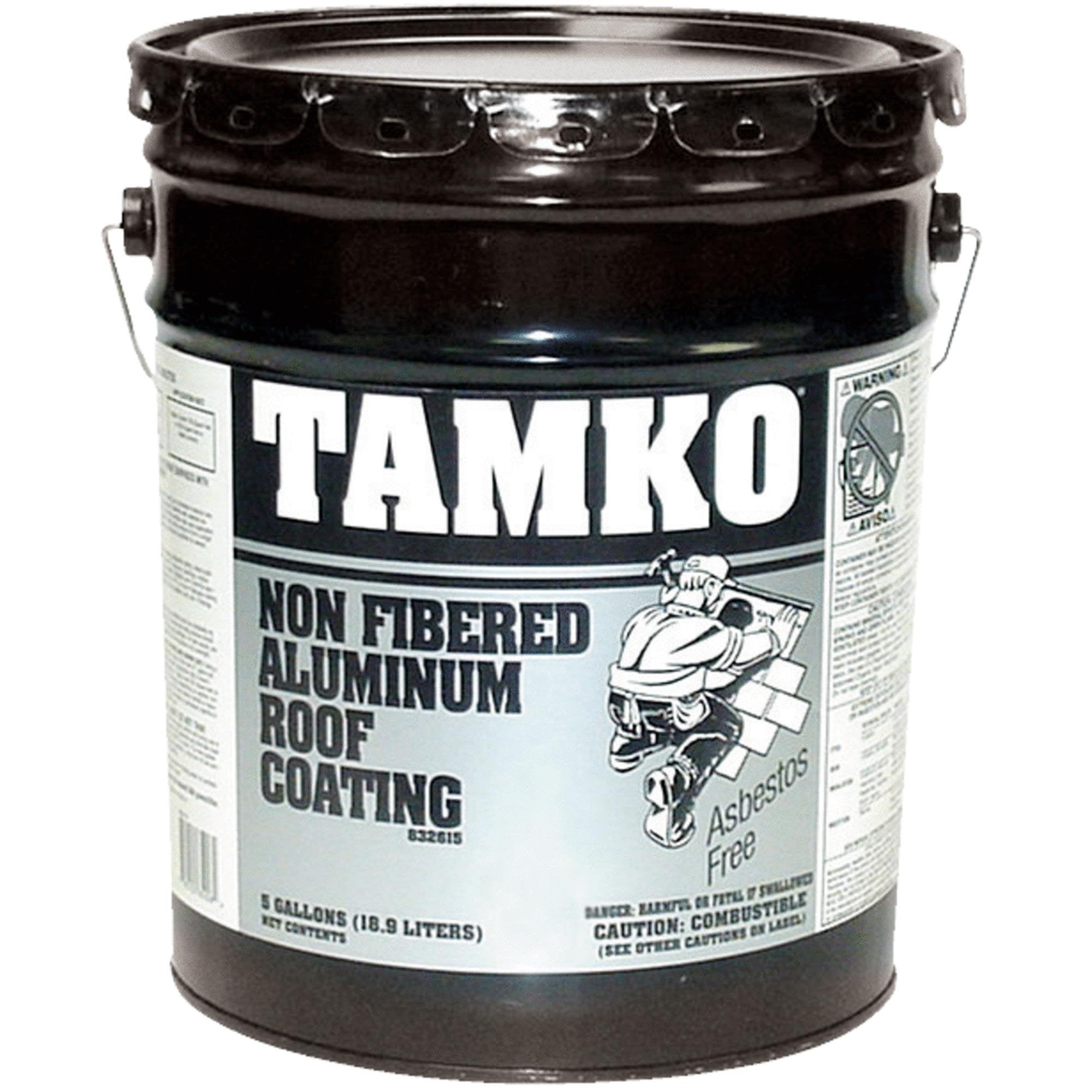 TAMKO Non-Fibered Aluminum Roof Coating