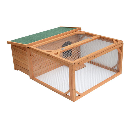 Aosom Pawhut Small Wooden Animal Coop