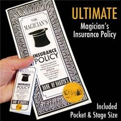 Magic Makers 6461 Ultimate Magicians Insurance Policy Trick by
