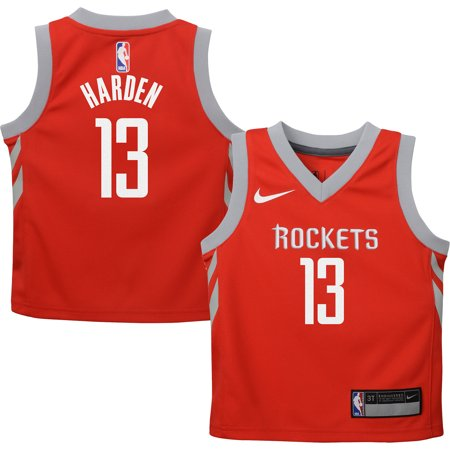 9dddef9daaf8 James Harden Houston Rockets Nike Toddler Replica Jersey Red - Icon Edition  - Walmart.com
