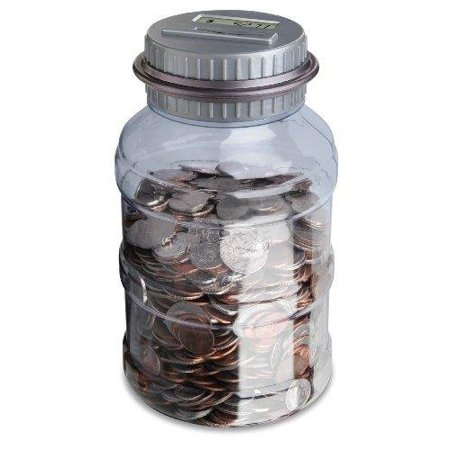 Digital Coin Bank  Coins Madriani Automatically Product Itazura Your Black Penny Remember Guardian Jar Savings Cup Cars Ii Calculator 12 14 Personal    By Emerson