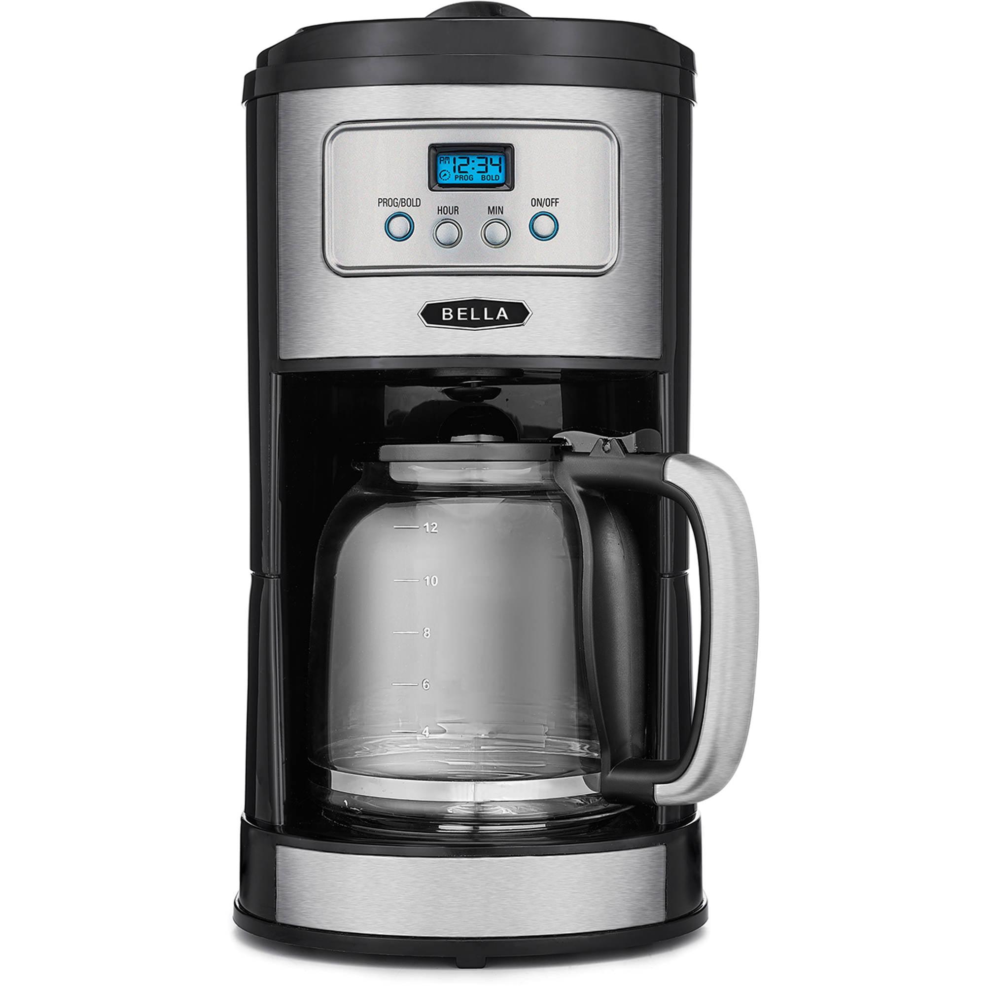 Bella 12-Cup Programmable Coffee Maker