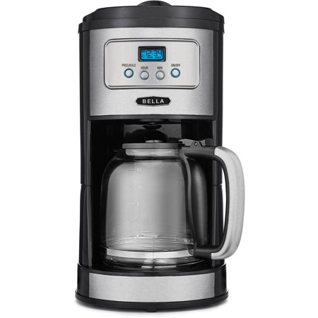 Bella 12-Cup Programmable Coffee Maker - Walmart.com