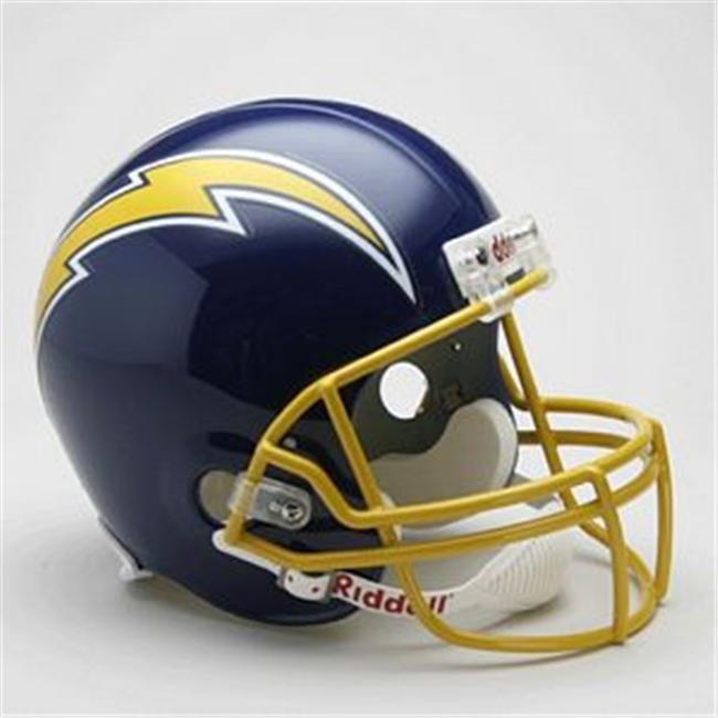 Creative Sports RD-CHARGERSTB-R74-87 San Diego Chargers 1974-1987 Throwback Riddell Full Size Deluxe Replica Football