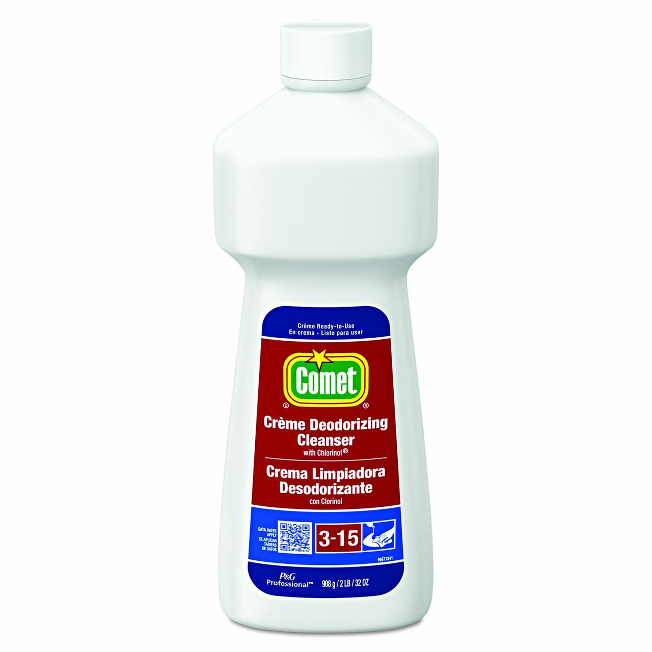 Click here to buy Comet Cr?me Deodorizing Cleanser, 32 Oz Bottle by Procter & Gamble.