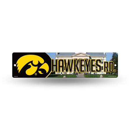 "Iowa Hawkeyes NCAA 16"" Street Sign for garage, office, man cave or any wall"