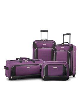 bb39e12ae643 Product Image American Tourister Fieldbrook XLT 4 Piece Softside Luggage Set