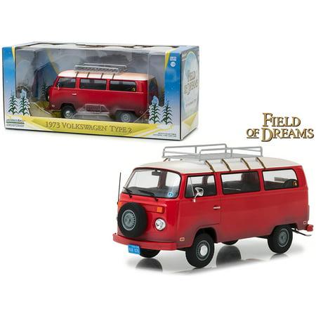 1973 Volkswagen Bus Type 2 (T2B) Red
