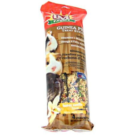 Guinea Pig Animal Treats (LM Animal Farms Guinea Pig Treat Sticks - Honey Vanilla Flavor 4)