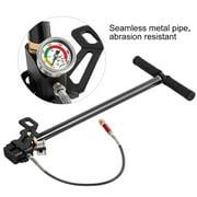 High Pressure 4500psi Tungsten Steel 3 Stage Hand Pump for PCP Air Gun Boat Tire Ball, 4500psi Hand Pump, Tungsten Steel Hand Pump