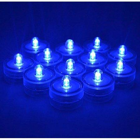 Samyo Set of 24 Waterproof Wedding Submersible Battery LED Tea Lights